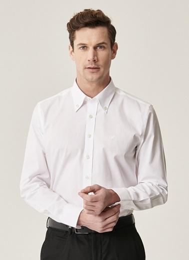 Beymen Business Slim Fit Gömlek 4B2000000050 Beyaz